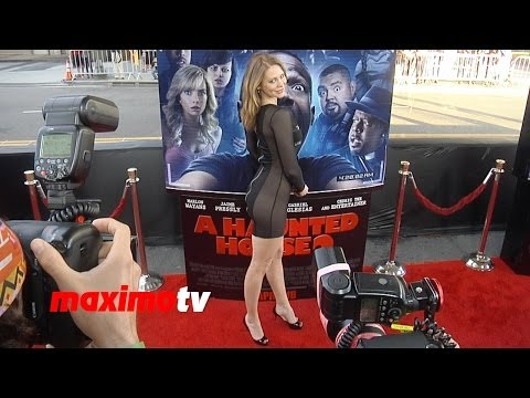 Maitland Ward  Amazing  A Haunted House 2 Premiere