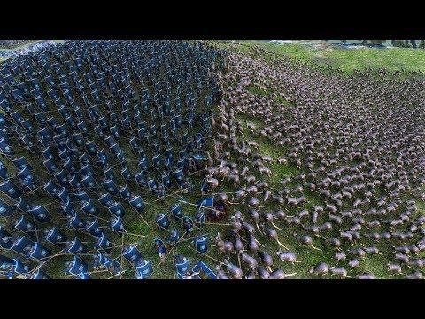KANGURU VS HUMAN!!! Massive War Ultimate Battle Simulator Epic Fight