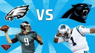 Madden 18 Philadelphia Eagles vs Carolina Panthers All Madden | PS4 Pro Gameplay