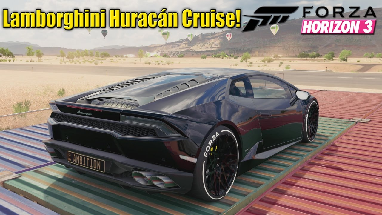 forza horizon 3 lamborghini hurac n horizon edition. Black Bedroom Furniture Sets. Home Design Ideas