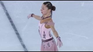 Анна Фролова Юношеские зимние Олимпийские Игры 2020 Короткая программа