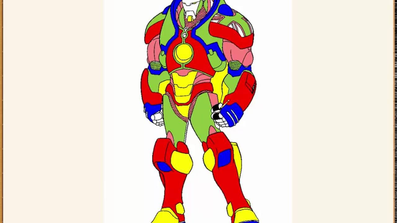 iron man coloring coloring book coloring pages learn colors