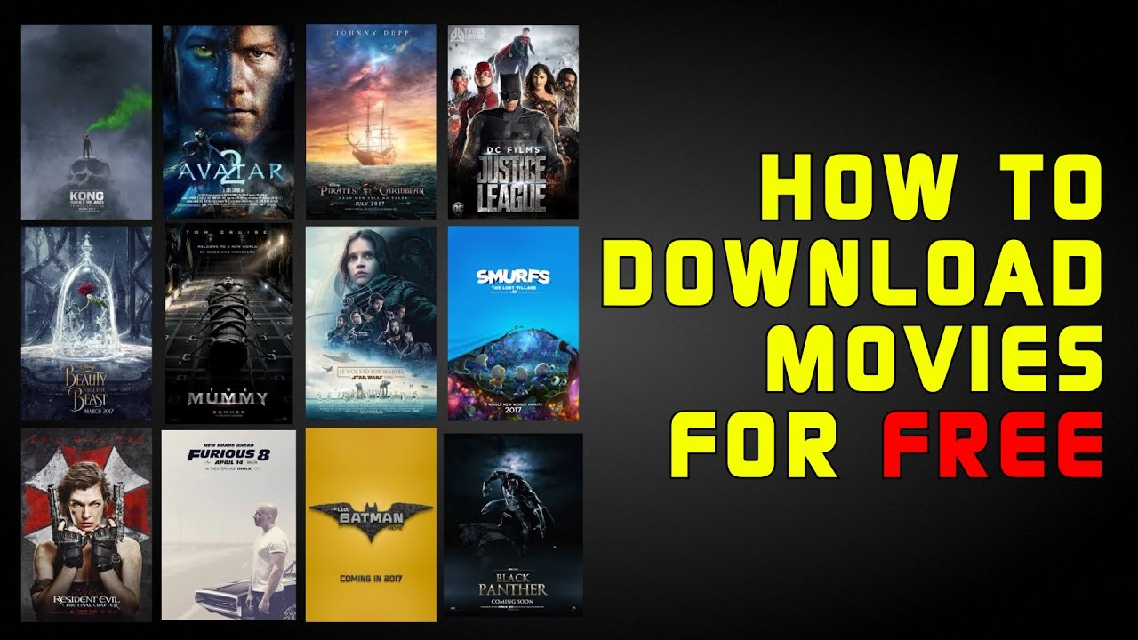 how to download high quality movies for free using torrents - youtube