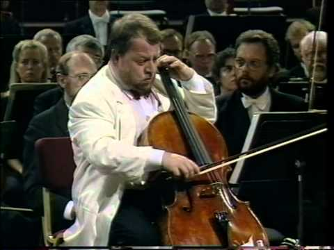 Heinrich Schiff, Dmitri Shostakovich Cello Concerto No. 1 in E-flat major, Opus 107