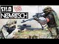 NOVRITSCH vs. SILO ENTERTAINMENT | 1v1 Airsoft Sniper Duel | Part #1