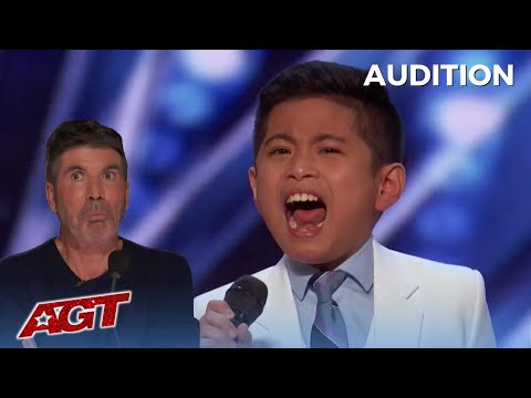 Download Peter Rosalita: 10 Year Old Filipino Boy BLOWS SIMON AWAY! America's Got Talent!