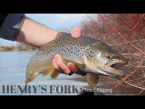 Henry's Fork Kayak Fishing