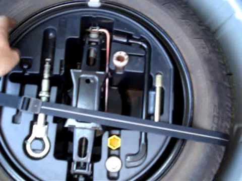 Peugeot 307 Spare Wheel Youtube
