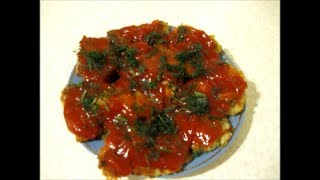 Рыба под томатным соусом