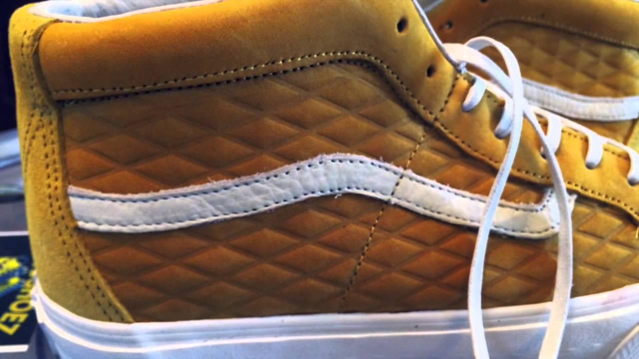 75e3724a55 Vans Vault x Taka Hayashi TH Sk8 Mid Skool LX (Sk8-Hi) - (Nubuck) Honey  colorway - 10-12-14 - YouTube
