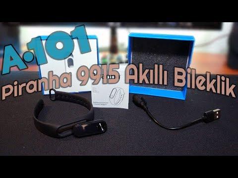 A101'de 50₺'ye Xiaomi Mi Band 2 Çakması Piranha 9915 Akıllı Bileklik İncelemesi   Almaya Değer Mi?