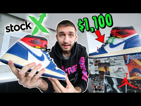 $1,100 ON STOCK X for the UNION LA JORDAN 1 🔥 ARE THEY WORTH the MONEY?