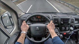 Peugeot Boxer   4K POV Test Drive #229 Joe Black