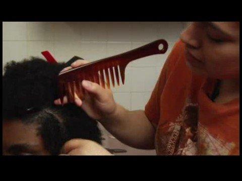 Zig Zag Braiding Tips : Zig Zag Braiding Hair Preparation
