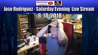 Jose Rodriguez PHOTO PRINTING TECHIE LIVE Stream  6:00PM  8-18-2018 Eastern Time USA