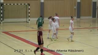 Naisten futsal-liiga 2019-2020 / Ylöjärven Ilves vs. KaDy maalikooste 1.2.2020