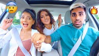 لما تطلع أغنيتك المفضلة بالسيارة | مع نارين و شيرين