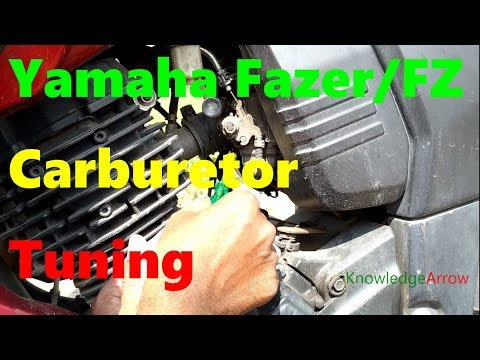 Fazer/FZ carburetor mileage setting /Carburetor tuning setting /Carburetor mileage setting