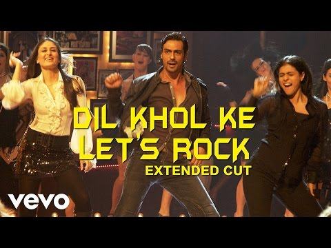 We Are Family - Dil Khol Ke Let's Rock Video | Kareena, Kajol