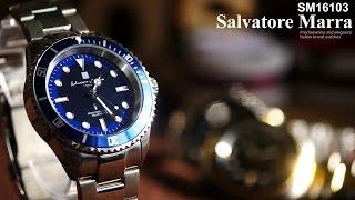 サルバトーレ マーラ ソーラー電波 メンズ 腕時計SM16103/ SalvatoreMarra Solar radio & watch SM16103