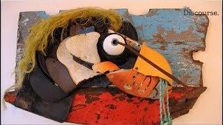 How Peter Clarkson turns marine debris into art in Tofino.