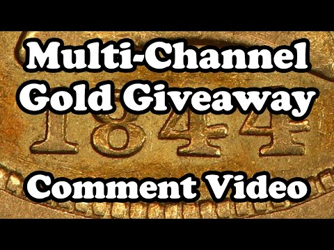 multi-channel-giveaway-1844-o-$5-gold-liberty-half-eagle-pcgs-vf35-and-more---official-comment-video