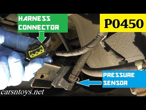 How to Test and Replace EVAP Pressure Sensor P0450