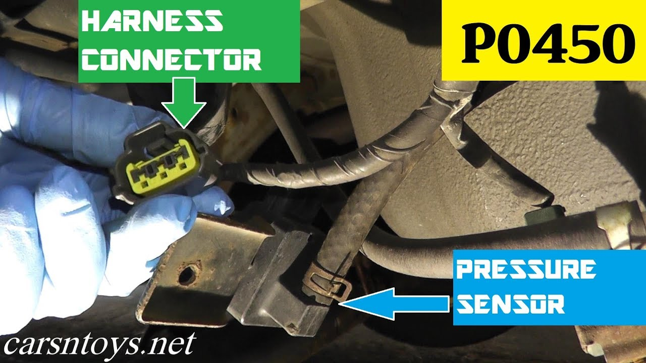 2016 Subaru Forester Wiring Diagram How To Test And Replace Evap Pressure Sensor P0450 Youtube