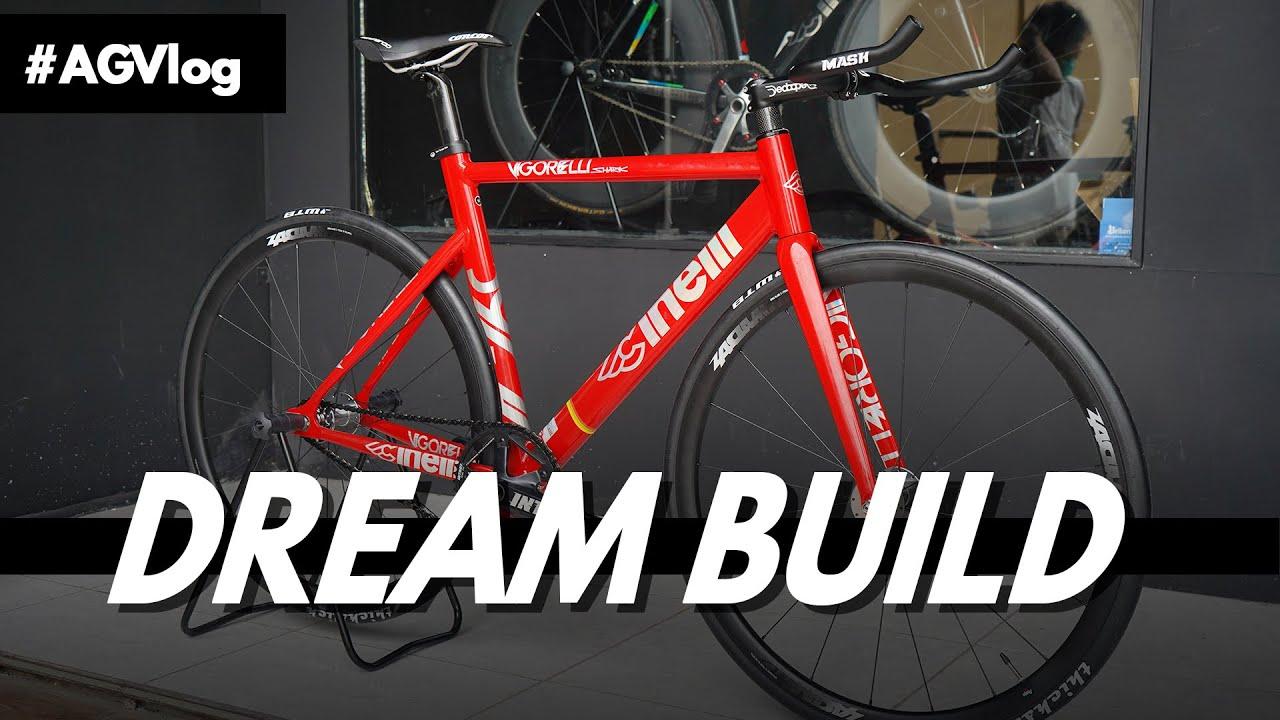Dream Build Fixie Bike Cinelli Vigorelli Shark