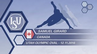 Samuel Girard - CAN - Interview - #WCShortTrack