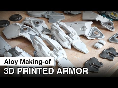 Aloy Cosplay Making of - 3D Printed Armor + Painting