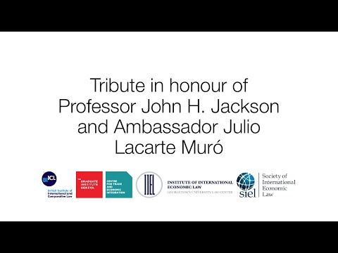 Tribute to J. H. Jackson and Lacarte Muró