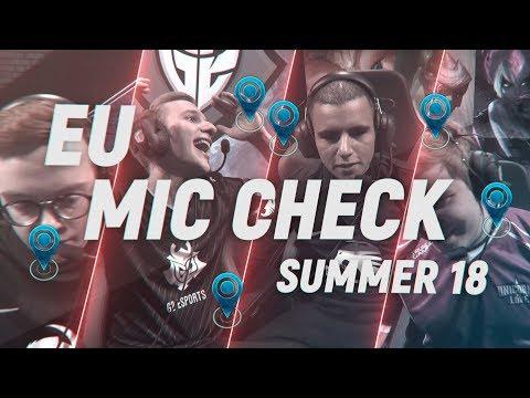 EU LCS Mic Check: Week 5 | Summer Split 2018
