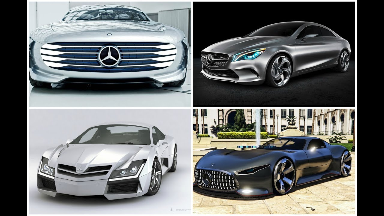Download 5 Mercedes Benz Concept Cars YOU MUST SEE    HT High Technology    Latest Technology