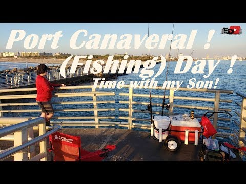 Port Canaveral Fishing Day ! Time With My Boy!