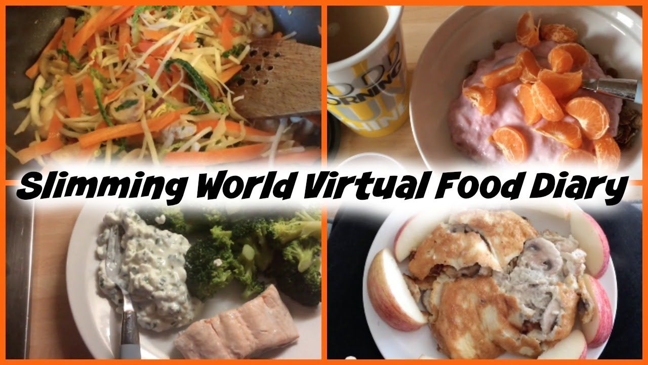 Slimming world extra easy virtual food diary youtube slimming world extra easy virtual food diary freerunsca Images