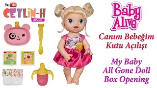 Video Baby Alive Canım Bebeğim Kutu Açılışı - My Baby All Gone Doll Box Opening download MP3, 3GP, MP4, WEBM, AVI, FLV November 2017