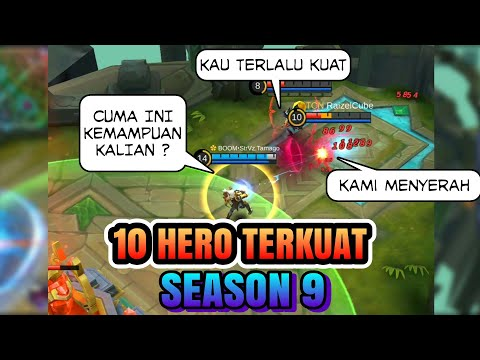 10 HERO TERKUAT MOBILE LEGENDS