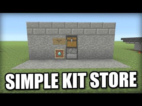 Minecraft PS4 - KIT STORE [ SIMPLE ] Tutorial - PE / Xbox / PS3 / Wii U
