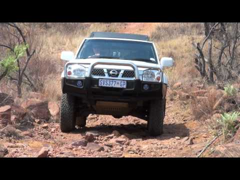 Grootwater 4x4 up hill section in Limpopo
