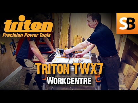 TWX7 Modular Workcentre Demo at Triton Tools