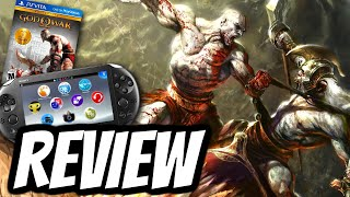 God of War Collection Playstation Vita REVIEW (PS VITA) HD Gameplay