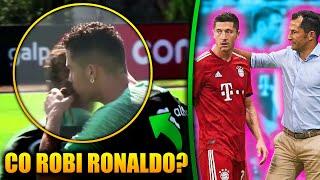 DZIWNE zachowanie Cristiano Ronaldo! Co on robi? Lewandowski WYJAŚNIONY | LANDRI