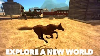 Wild Horse Family Sim : Animal Horse Games, Ultimate Horse Simulator, By Gluten Free Games