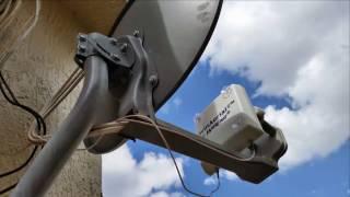 New Satellite Dish hack !!2017