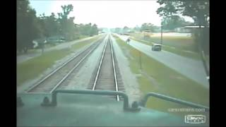 Train crash compilation #1