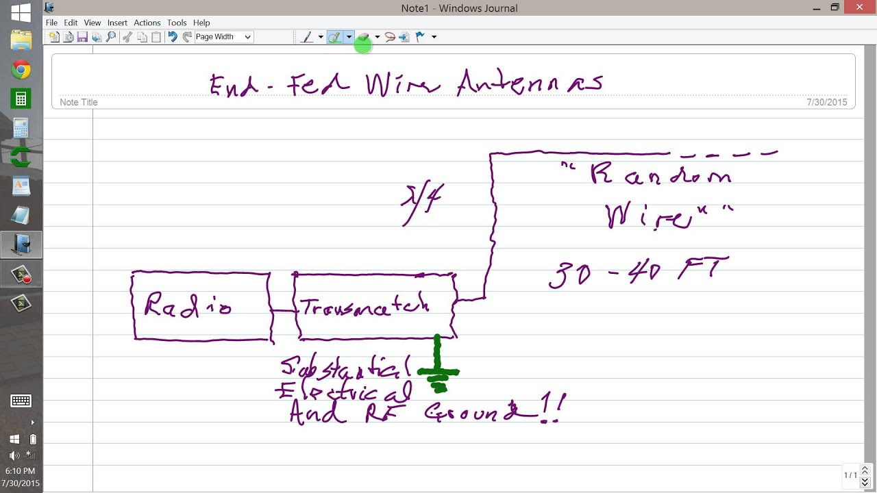 End-Fed Wire Antennas - YouTube