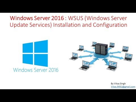 Windows Server 2016 : WSUS Windows Server Update Services Installation and Configuration