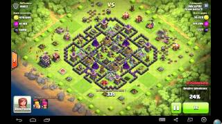 [Farm] montons nos murs/épisode 1 - Clash Of Clans