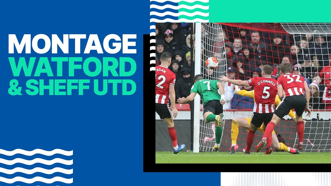 Download Watford and Sheffield United Montage